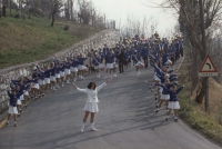 Prima sfilata delle Majorettes, 7 marzo 1993