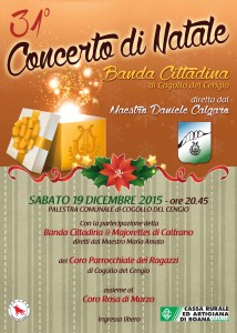 Concerto Natale Banda Cogollo